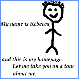 My name is Rebecca
