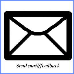 You can email me feedback if you like.